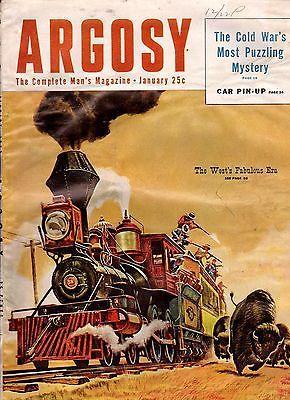 1953 Argosy January Trapping Coyotes The Eyes of Texas I Fought Jungle Peak | eBay