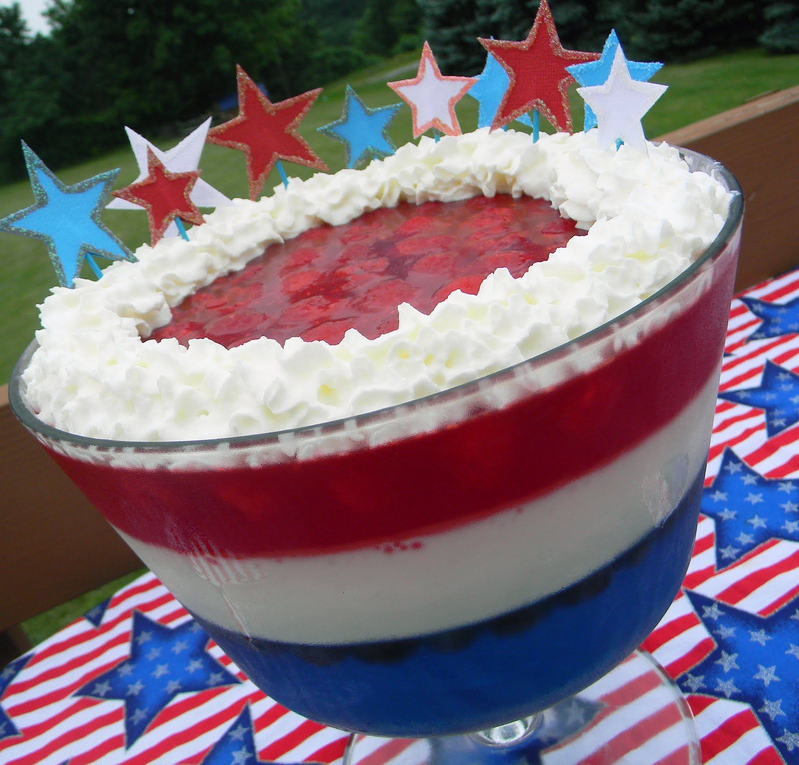 red white and blue desserts | red, white & blue dessert!}