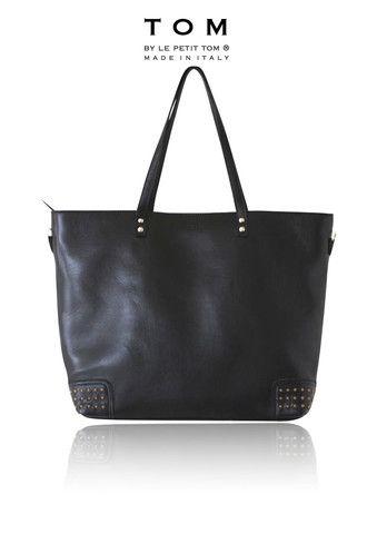 Dolly Diaper Bag Moccasin Tlmbag5 Black Leather