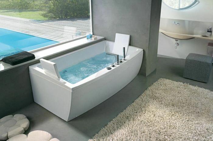 jacuzzi baignoire Faites vous le plaisir de la baignoire jacuzzi! #BathtubModern