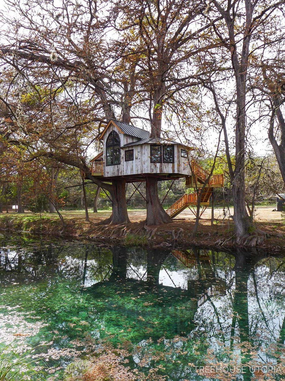 Chapelle at Treehouse Utopia, a Texas Hill Country Retreat