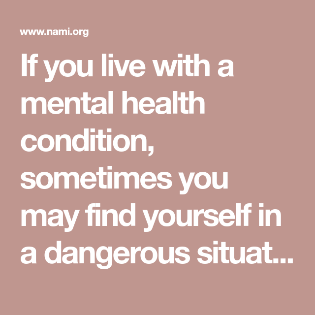 If you live with a mental health condition, sometimes you ...