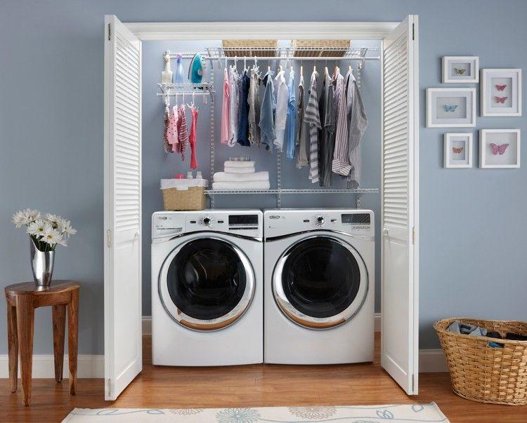 trockner und waschmaschine in kleinem keller mit. Black Bedroom Furniture Sets. Home Design Ideas