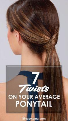 7 Twists On Your Average Ponytail