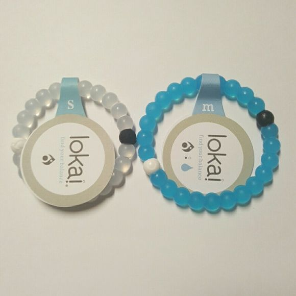 Size Chart Showing The Difference In Small And Medium Lokai Bracelets Is 7 While 8 Jewelry