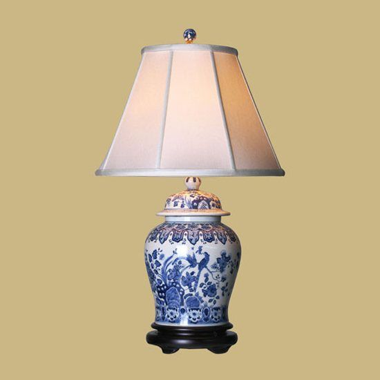 Oriental furniture lmp lpdbwn0813e chinese porcelain table lamps 30 oriental furniture lmp lpdbwn0813e chinese porcelain table lamps 30 blue white temple jar aloadofball Images