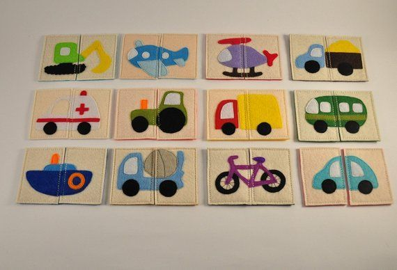 Transport puzzles Road baby game Toddlers developi