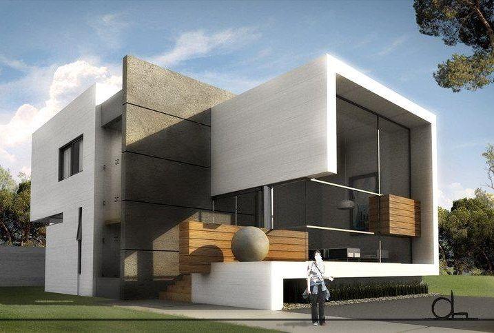 Pin de joydeep roy chowdhury en container homes fachadas for Foto casa minimalista