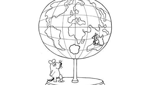 Erde Malvorlage | ausmalbilder | Pinterest | Erde Malvorlagen, Erde ...