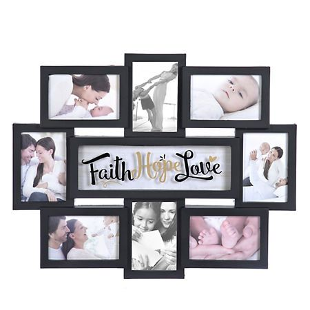 Faith Hope Love 8-Opening Collage Frame | Kirklands