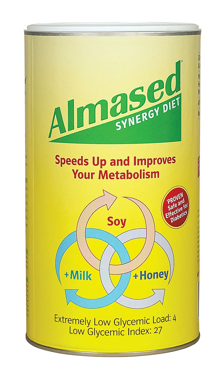 Almased is a natural product uniquely made from soy