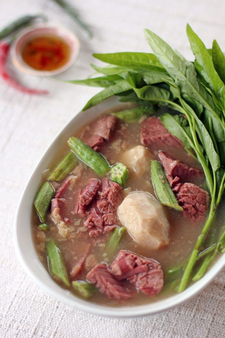 Sinigang Na Corned Beef Recipe Filipino Food Pinterest