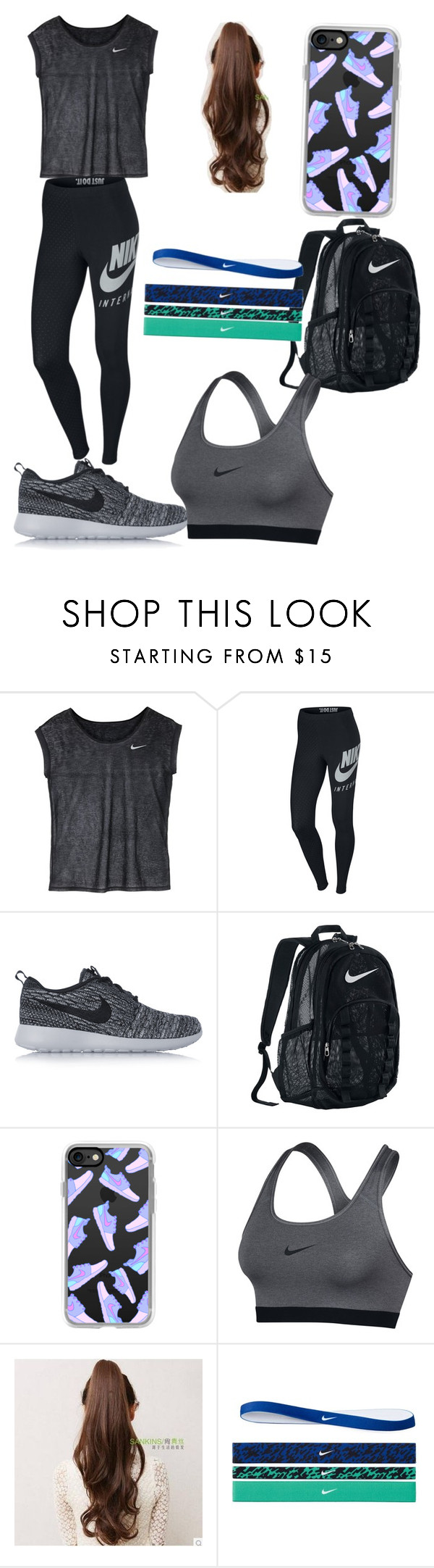 """""""Nike sponsored outfit."""" by serenityreigndavis on Polyvore featuring NIKE and Casetify"""