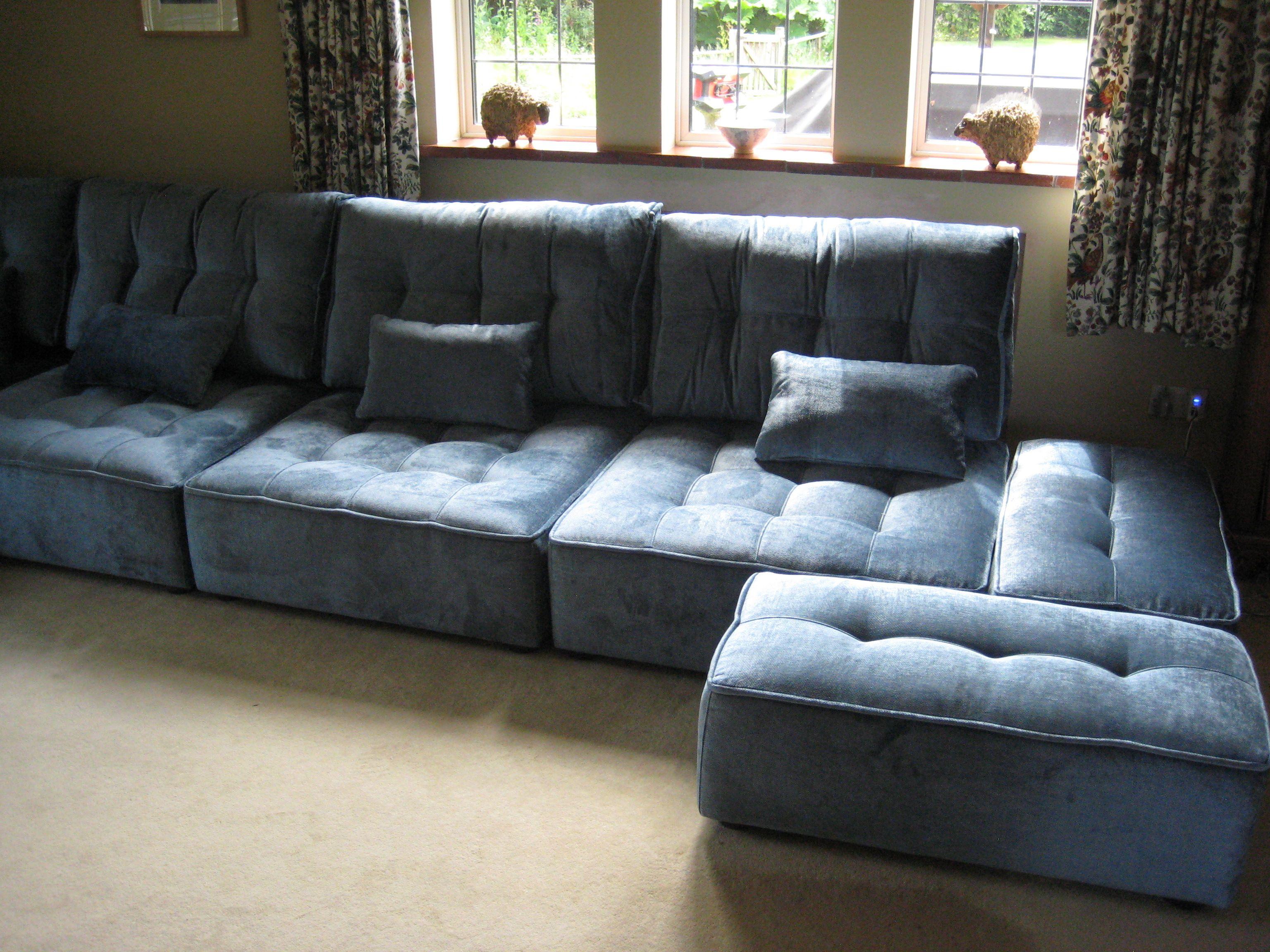 Large Tapas Fully Standalone Modular Seating With A Couple Of Small 48 Cm X 93 Cm Footstool Modules On The Right Living Room Furniture Furniture Sofas