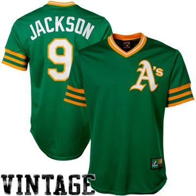 new product 21c05 1a039 Majestic Reggie Jackson Oakland Athletics Cooperstown Fan ...