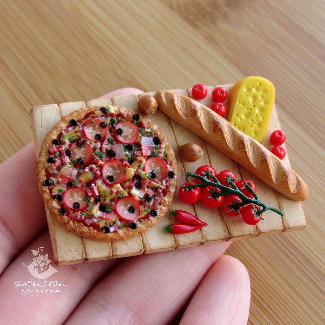 Еда из полимерной глины для кукол инстаграмм