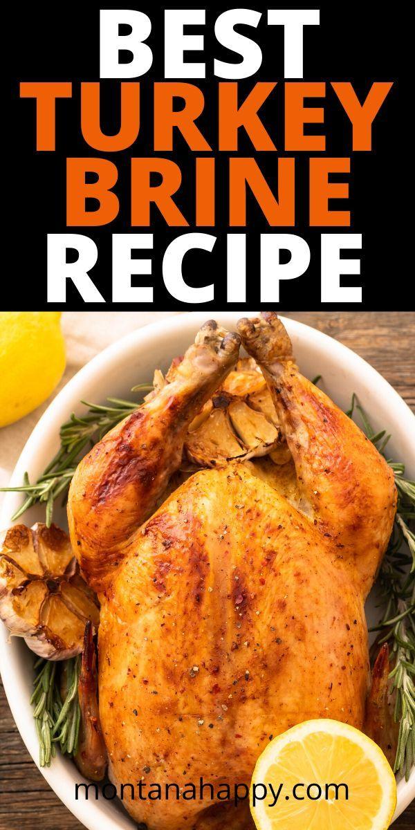 Best Turkey Brine Recipe | Montana Happy