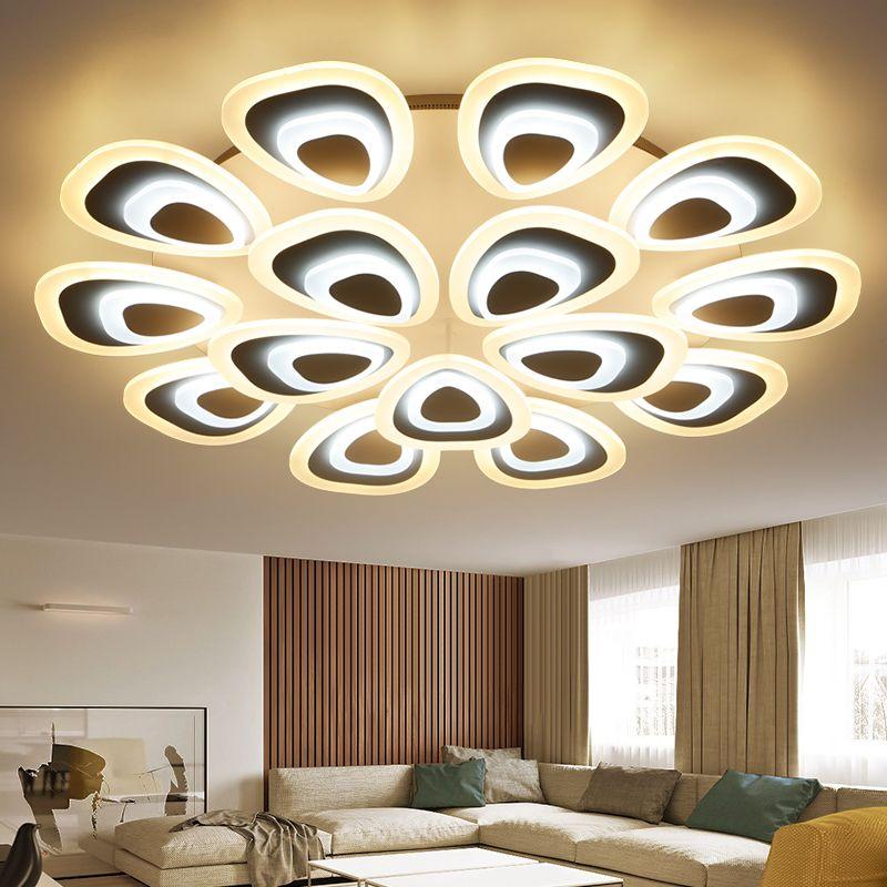 Eusolis 110 220v Peacock Ceiling Lights Lamparas De Techo Abajur - Moderne Wohnzimmerlampen