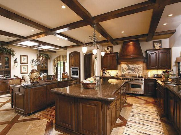 Most Luxurious Word Class Interior Designs Of A Dream House Expensive Italian Marble Kitchen Desig Luxury Kitchen Design Luxury Kitchens Luxury House Designs