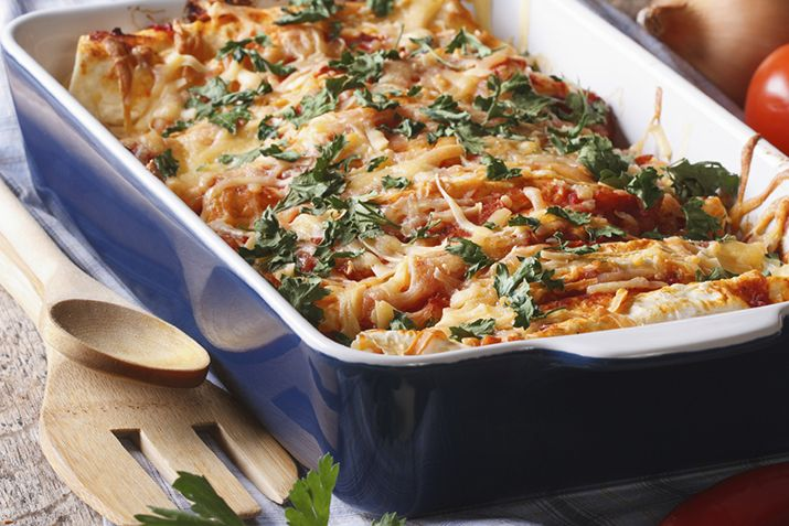This flavorful Mexican inspired casserole is a breeze to prepare.