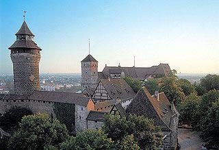 Nurnberger Burg Franken Bayern Bavaria Germany Burg Deutschland Burgen Mittelalterliche Burg
