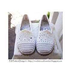 Photo of Lace & Stripe Slippers pattern by Sophie and Me-Ingunn Santini