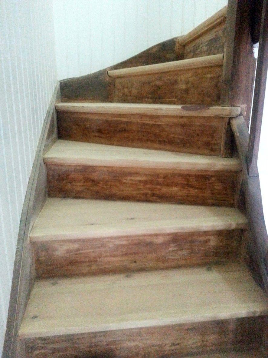 Refaire Un Escalier Ancien Renovation Escalier Bois Escalier