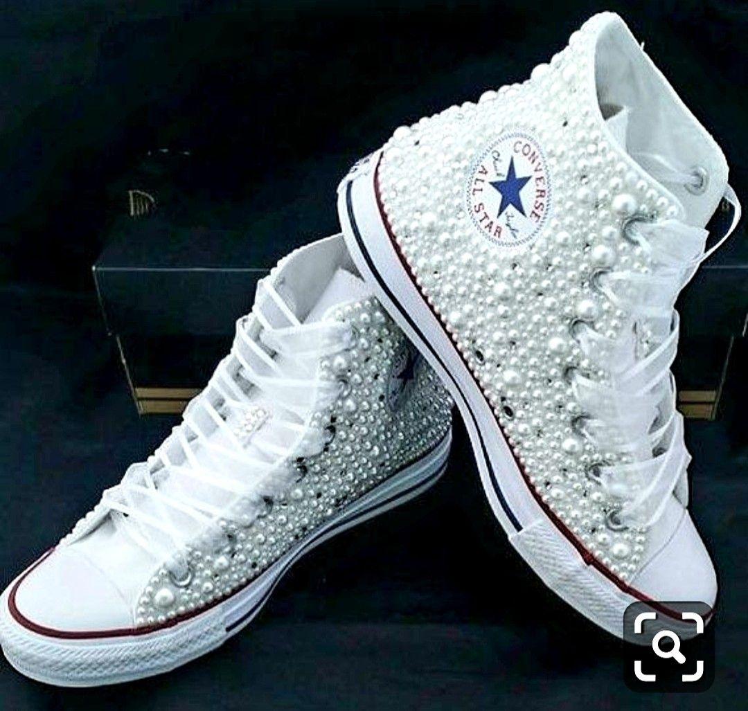 Pin By Natalia Zaltron On Artesanatos Ong Handicraft Ngo Wedding Sneakers Converse Wedding Shoes Quinceanera Shoes