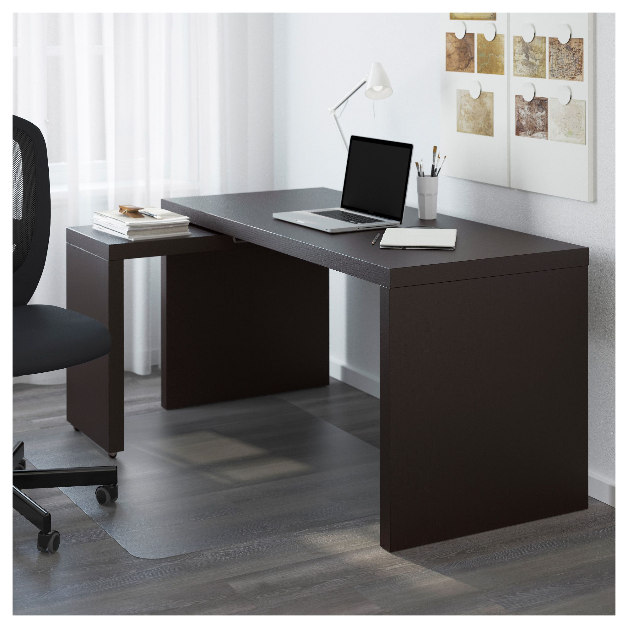 Fresh Home Furnishing Ideas And Affordable Furniture Ikea Malm Desk White Paneling Apartment Furniture
