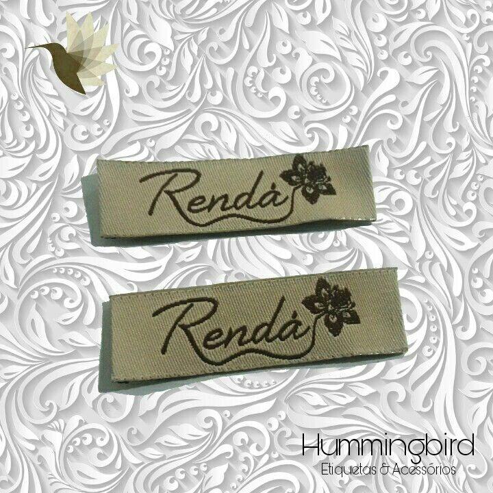 Mais uma cliente top satisfeita com suas belas etiquetas. Elegância e sofisticação você encontra aqui na Hummingbird Etiquetas & Acessórios!