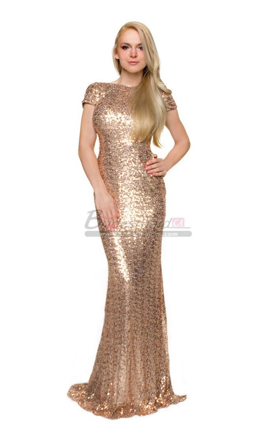 brilliant gold long wedding dresses for bridesmaid ideas