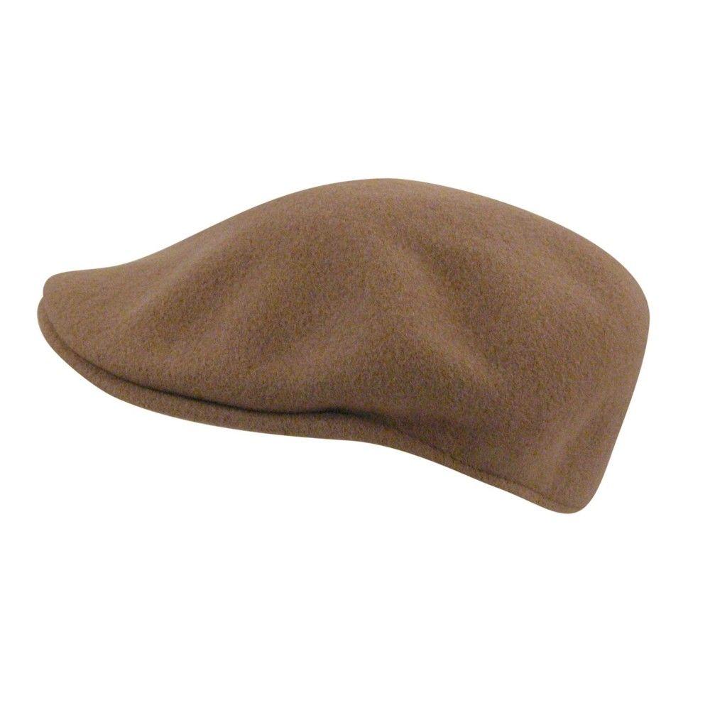 Sixpence   Flat cap - Kangol Wool 504 (camel)  d5b905076bd