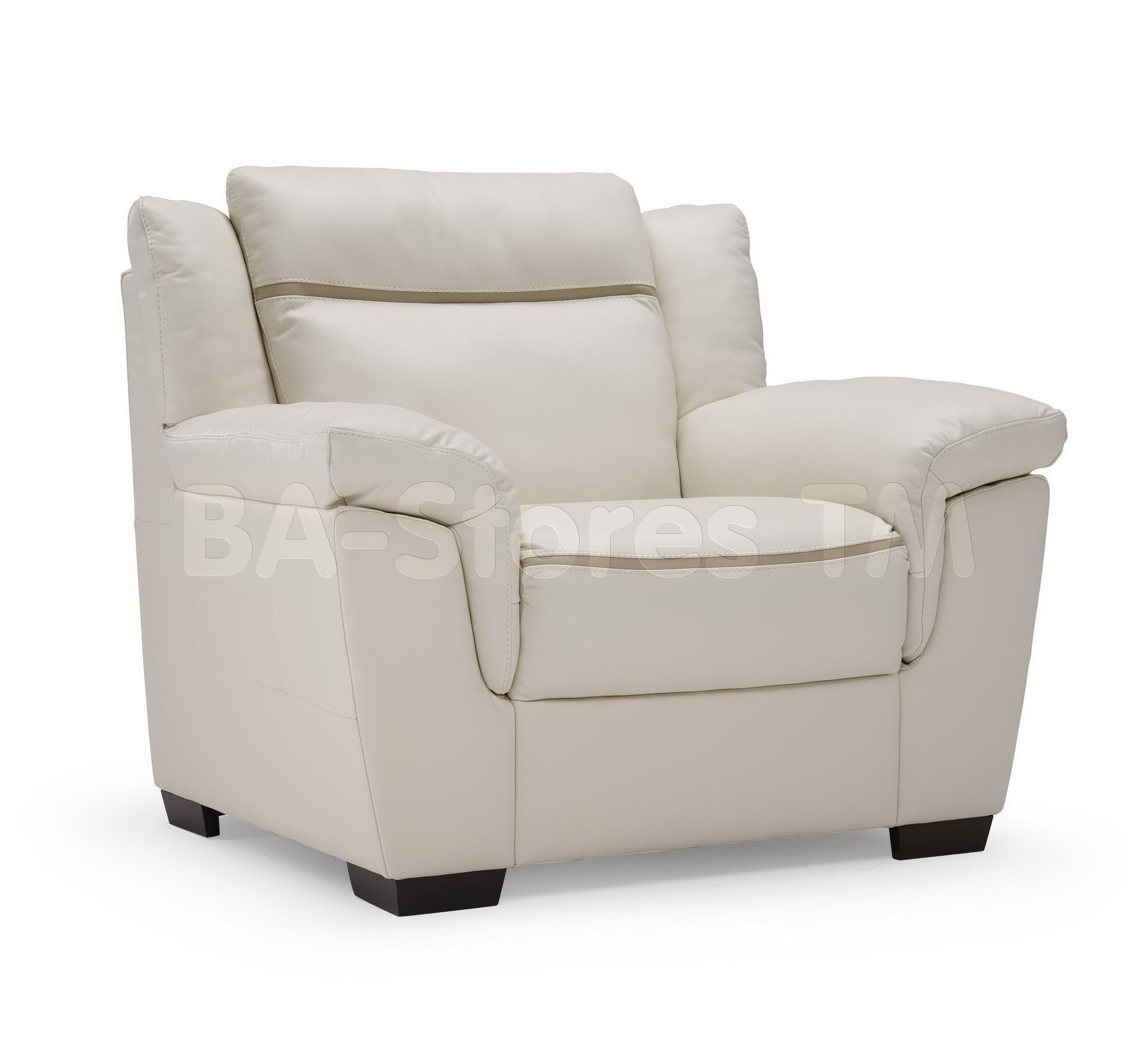 Natuzzi Editions Casual Contemporary Leather Chair B865