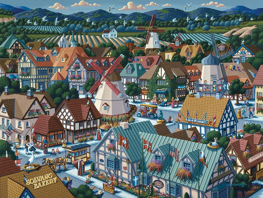 Solvang by Eric Dowdle