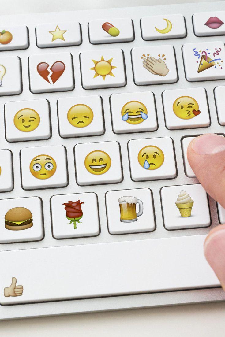 Lustige Emoji-Tastatur