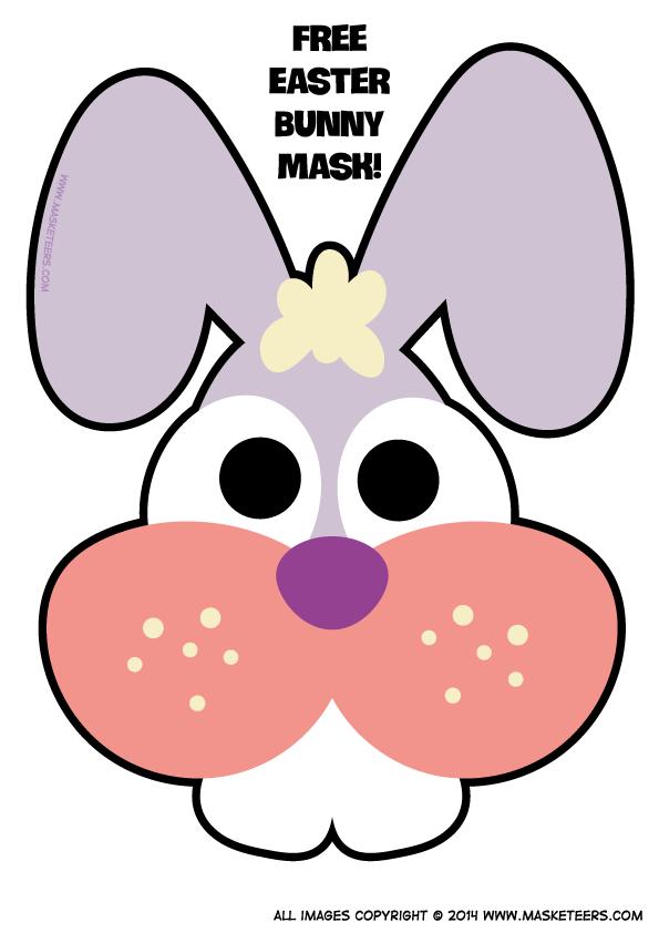 Free Printable Easter Bunny Mask