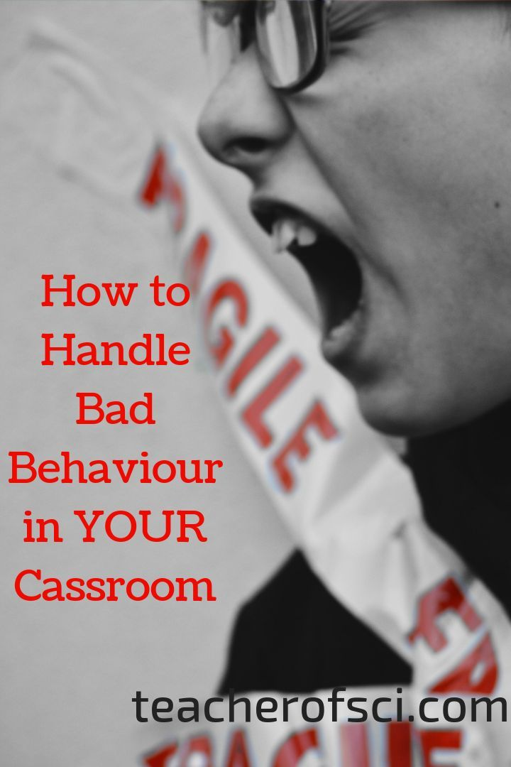 How you can handle the most common misbehaviors in the