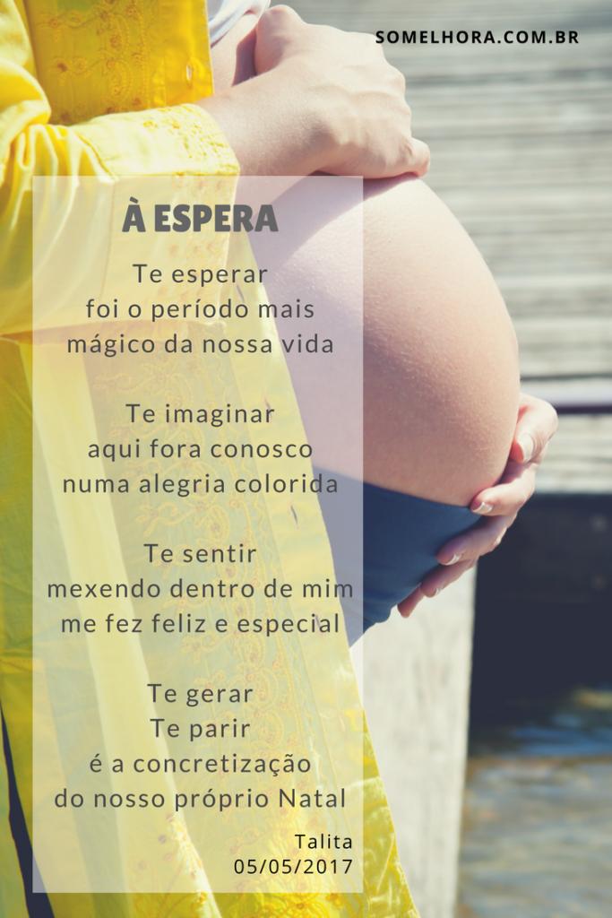 à Espera Poesia E Sobre Estar Grávida Chás De Bebê Bebe