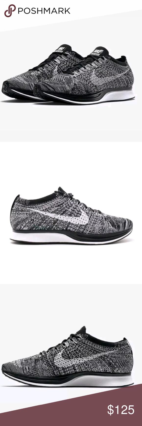 d6e3dc64 NIKE FLYKNIT RACER OREO 2.0 BLACK / WHITE Size 11 Brand new dead stock size  11.5 Nike Shoes Sneakers