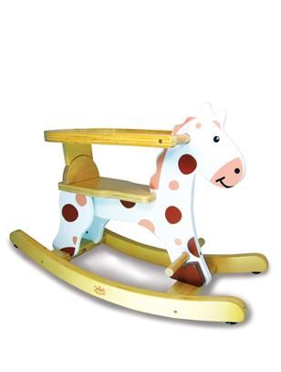 Picture of Vilac wooden Rocking Horse - Roudoudou