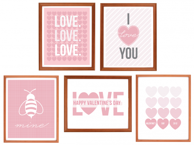 75 Valentines Day Free Printables Craftionary Valentines Printables Free Valentine S Day Printables Valentines Diy