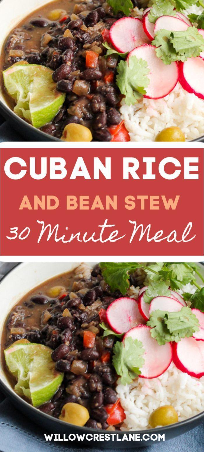 Cuban Rice and Bean Stew - Norah Pritchard   Willowcrest Lane