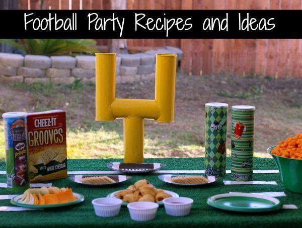 football party recipes #BigGame #SuperBowl #Football #PartyIdeas