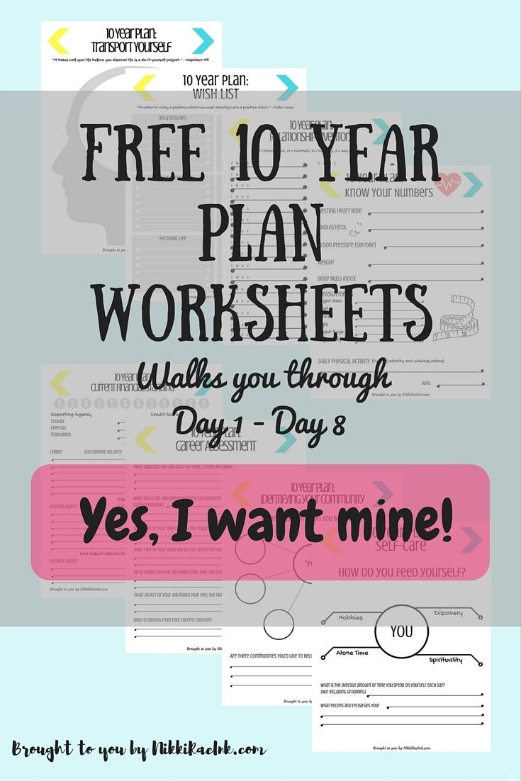 30 Day Challenge: Creating a 10 Year Plan, Days 1-15 | 10 years ...