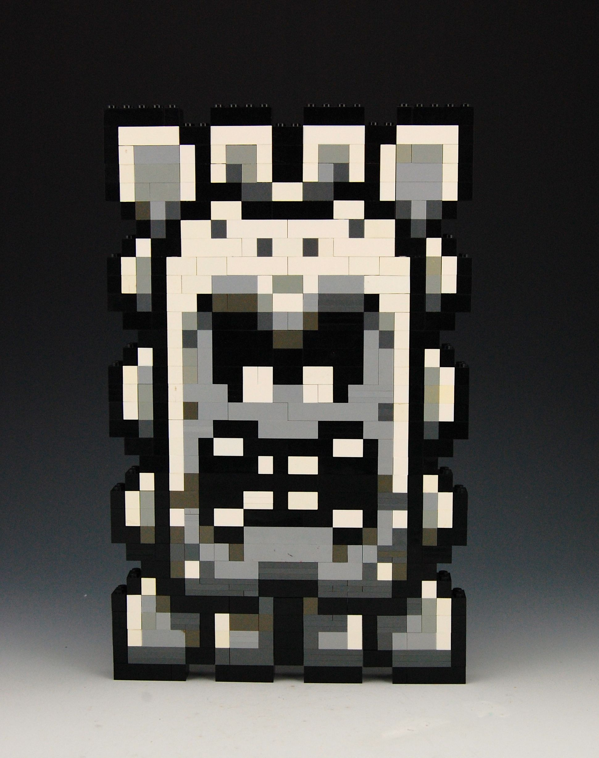 8 Bit Cartoon Characters : Lego thwomp by brickbum nintendo and cartoon characters