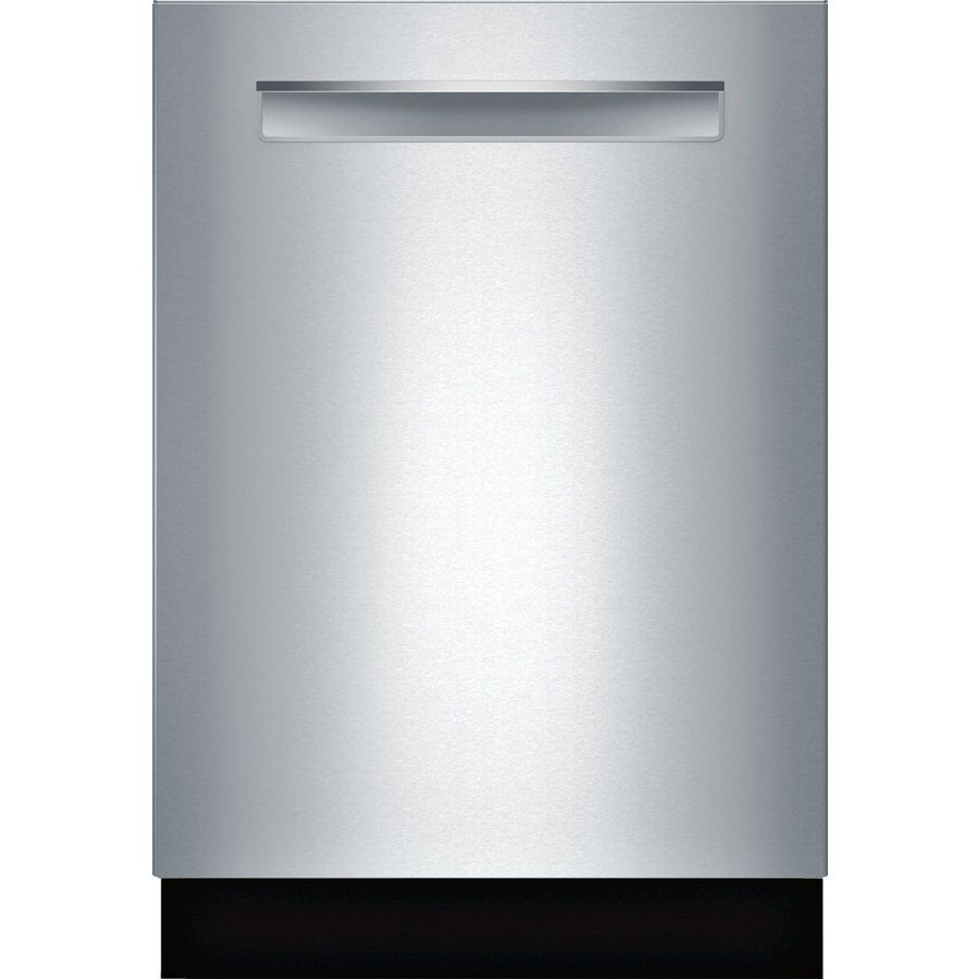 Shop Bosch Shp65t55uc 500 Series 44 Decibel Built In Dishwasher Common 24 In Actual 23 625 In E Integrated Dishwasher Built In Dishwasher Best Dishwasher
