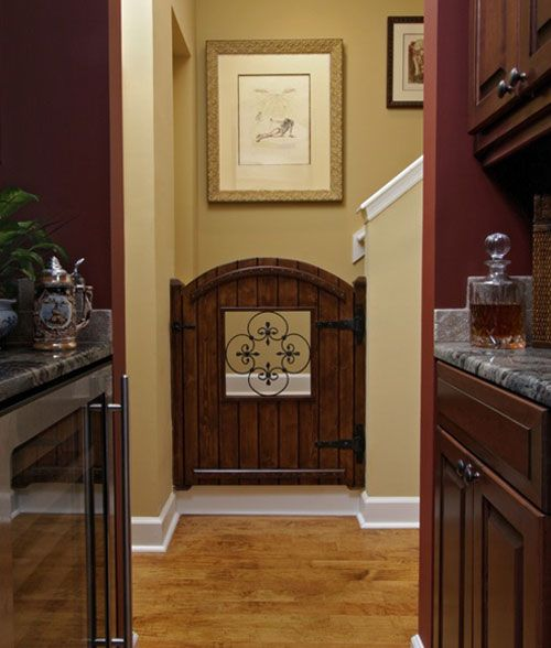Mediterranean Spaces Rooms For Dog Lovers Design, Pictures, Remodel, Decor  And Ideas   Page 4 (Diy Baby Gate)