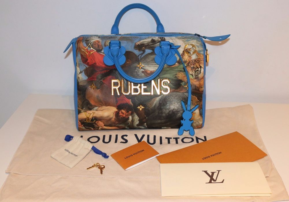 Louis Vuitton Speedy 30 Jeff Koons Rubens Limited Edition Neuwertig
