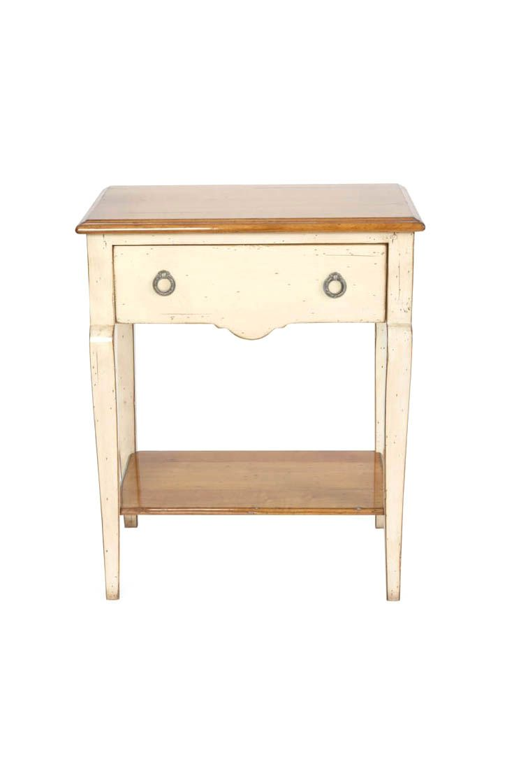 Light Grey Bedside Table: French Style Bedside Tables