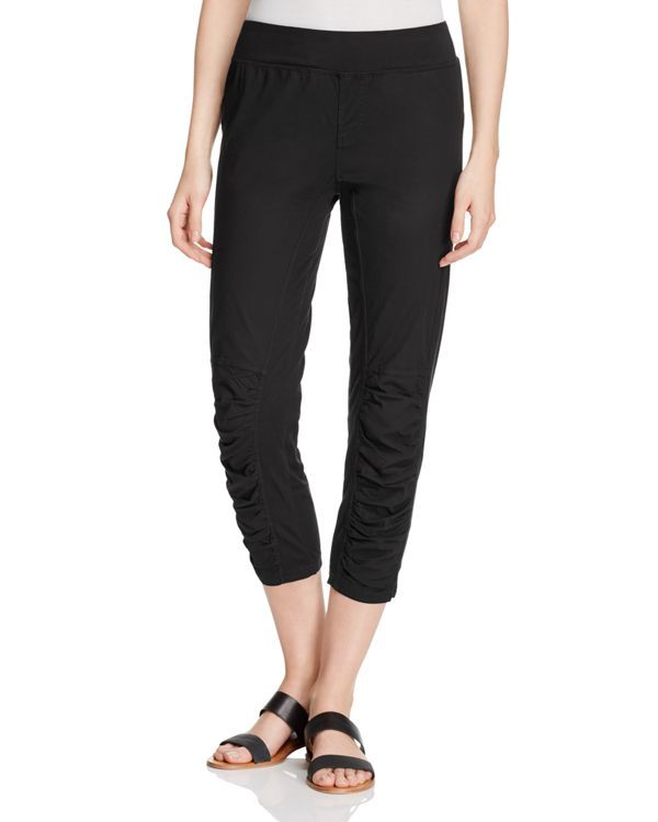 Xcvi Jetter Ruched Crop Pants